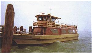 Wenecja - barka dla dużych grup