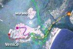 Wenecja - główne trasy komunikacji wodnej