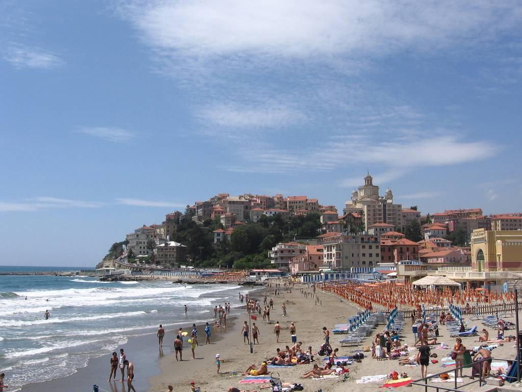 Imperia (Liguria) - plaża