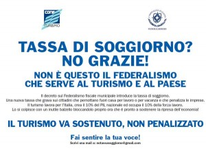 Nie dla podatku pobytowego we Włoszech