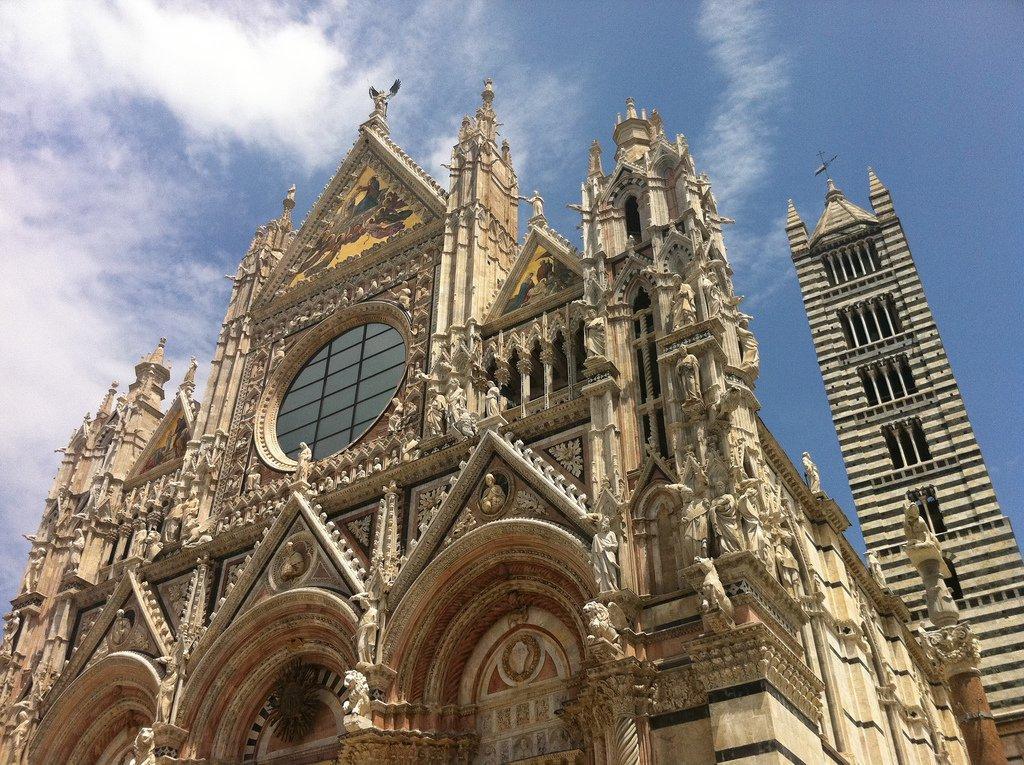 Siena - fasada katedry