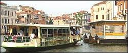 Wenecja - autobus wodny vaporetto